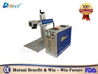 Dekcelcnc®Price Mopa 20w Cnc Fiber Laser Marking Machine For Logo, Packaging