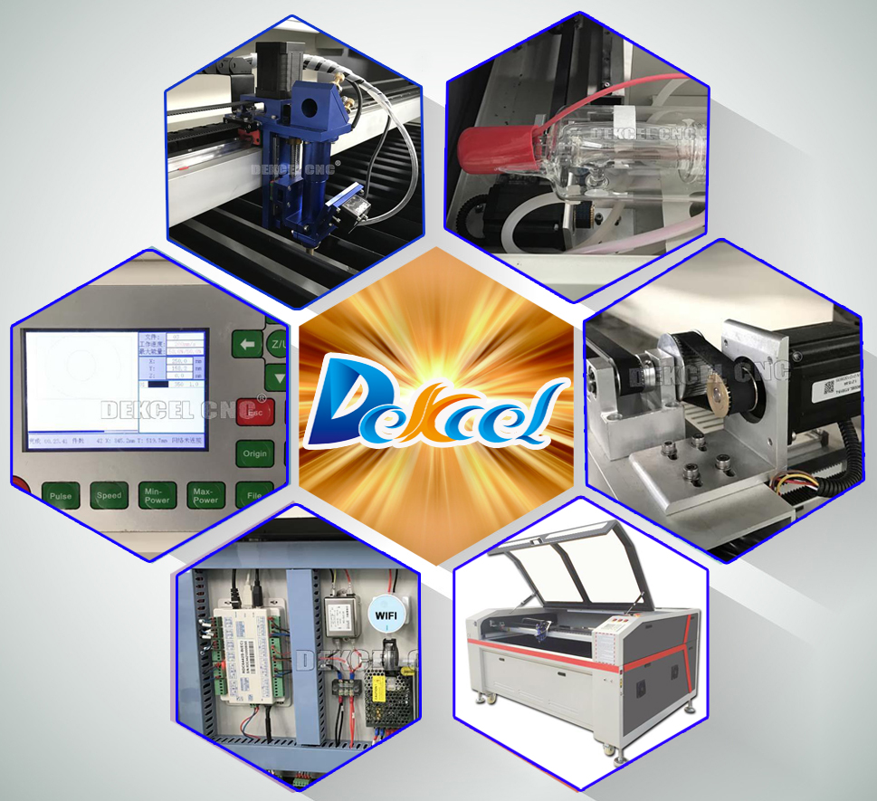 second hand cnc co2 laser cutting machine for 3D surface