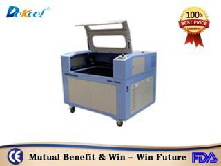 Dekcelcnc® 80w 100w 1390 Cnc Co2 Laser Cutting Machine for Wood MDF For Sale