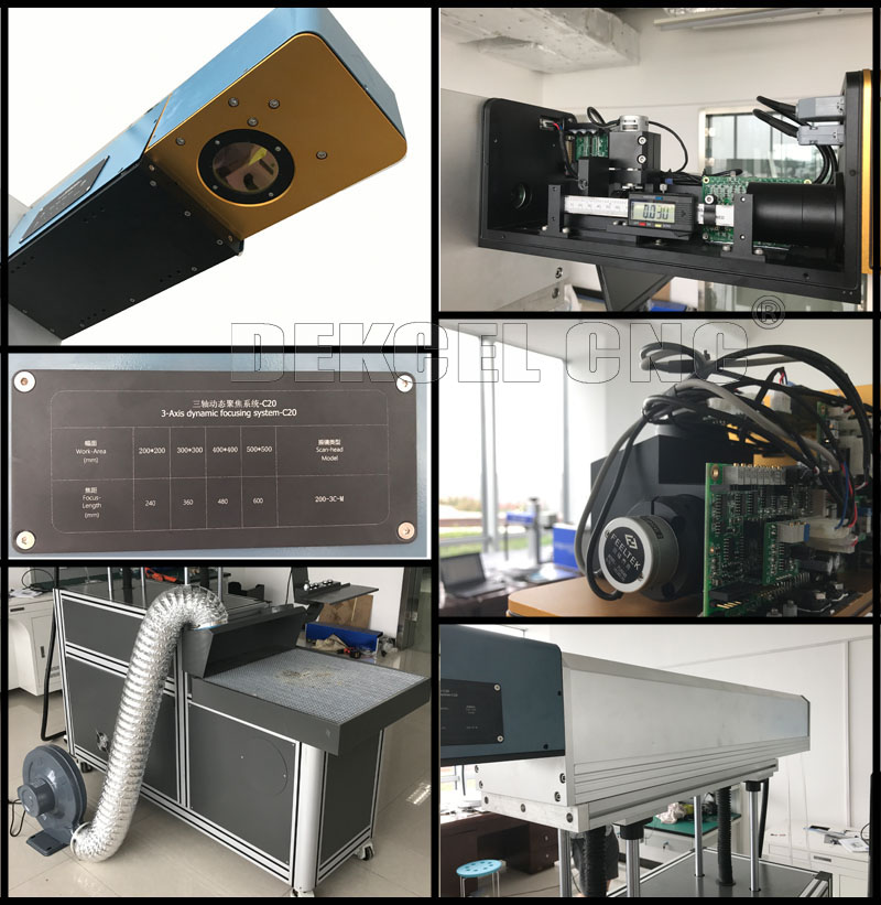 100w cnc co2 laser marking machine for paper cutting and cloth