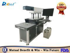 Dekcelcnc® 600mm 30w 100w CO2 Laser Marking Cnc Machine For Paper, Glass, jeans