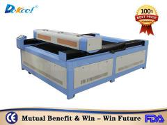 DEK-1318 cnc laser machine for cutting plywood stainless steel price