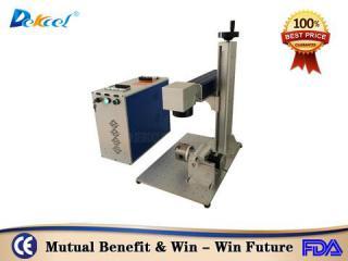 20w portable mopa fiber laser color marking machine for carton steel