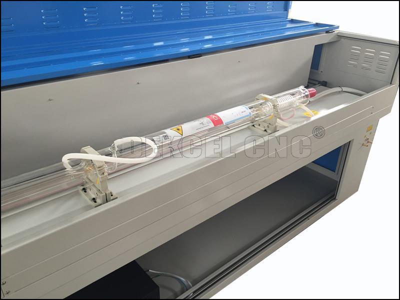 1390 cnc co2 laser cutting machine 80w laser tube