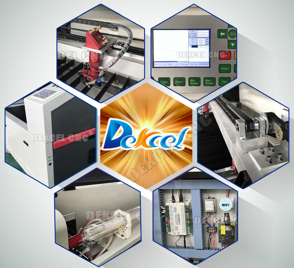 100w 150w cnc co2 laser cutter for steel wood acrylic for sale