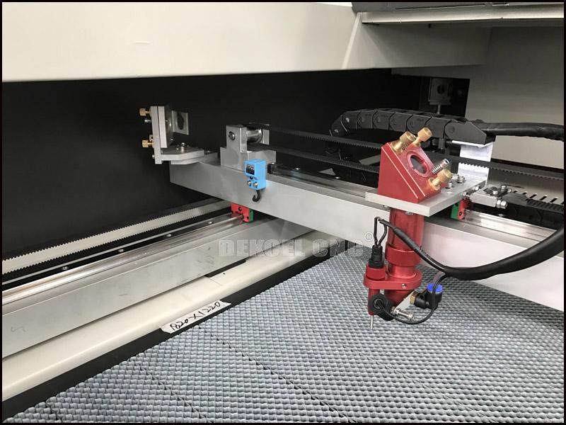 1812 cnc co2 laser cutting mahcine laser head