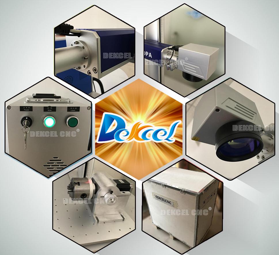MOPA 20W cnc fiber laser marking machine for sale