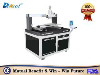DEK-1616 bigger metal nonmetal laser marking machine for glass
