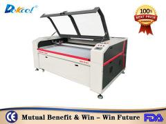 DEK-1812 honeycomb table laser cutting machine for rubber leather paper