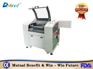 DEK-9060 100W best cnc paper leather wood laser engraving cutting machine sale