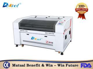 Reci 80w Visual CCD cnc laser cutter machine for textile embroidery sale