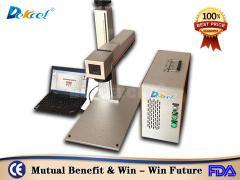 30w mini cnc fiber laser color marker machine for SS favorable price