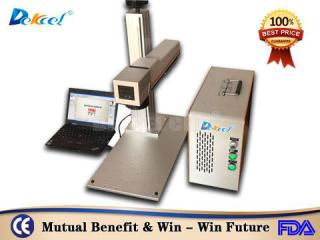 30w mini cnc fiber laser color marker machine for SS favorable price