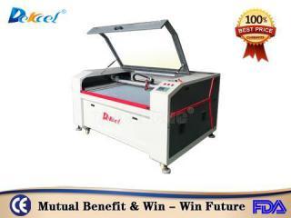 DEK-1410 Reci 80w laser cutter cnc machine with CCD camera favorable price sale