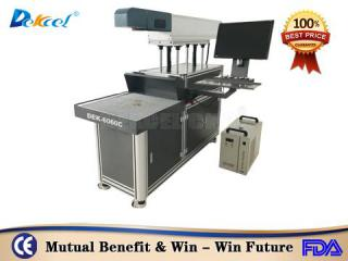 100W paper card 3D dynamic co2 laser marking machine factory price