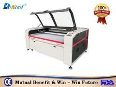 China Reci 100W laser fabric paper cutter cnc machine cheap price