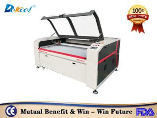 China Reci 100W laser fabric paper cutter cnc machine cheap price